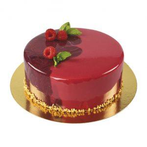 tvarohovo-malinový dort