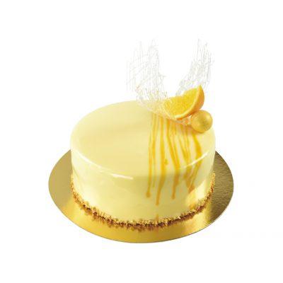 Pomerančovo-tvarohový dort